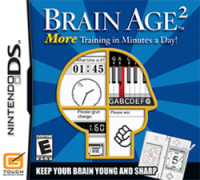 Brain Age packaging