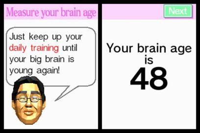 Brain Age screenshot