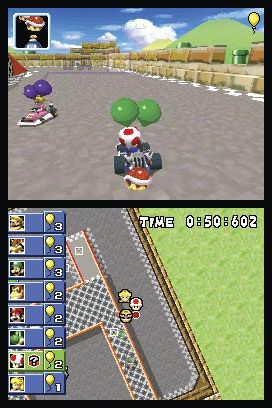Mario Kart DS - Balloon Battle Screenshot