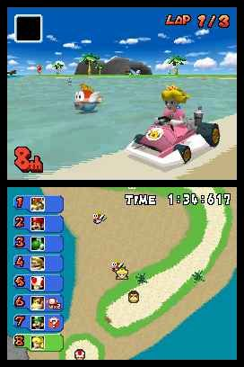 Mario Kart DS - Screenshot