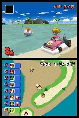 Mario Kart DS - Screenshot