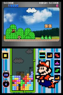 Nintendo DS Tetris - Screenshot
